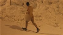 Un mystérieux coureur nu dans l'arrondissement d'Ahuntsic