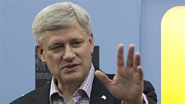 Le premier ministre du Canada, Stephen Harper