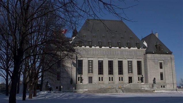 مقر المحكمة الكندية العليا أعلى سلطة قضائية في العاصمة أوتاوا