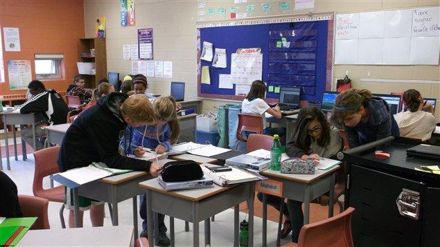 Élèves de la classe de Mme Anick Arsenault Carter