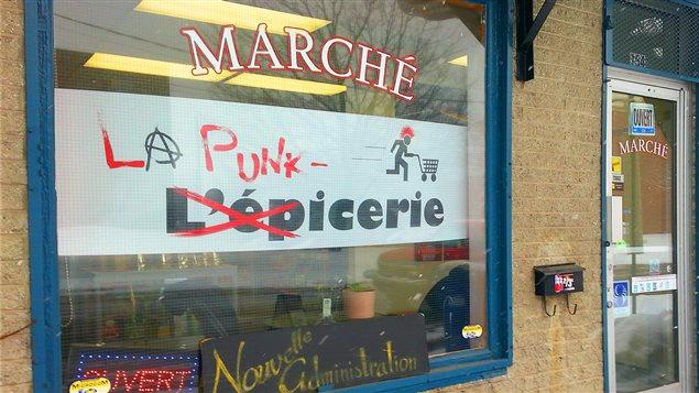 Facade le la Punk-Icerie à Québec