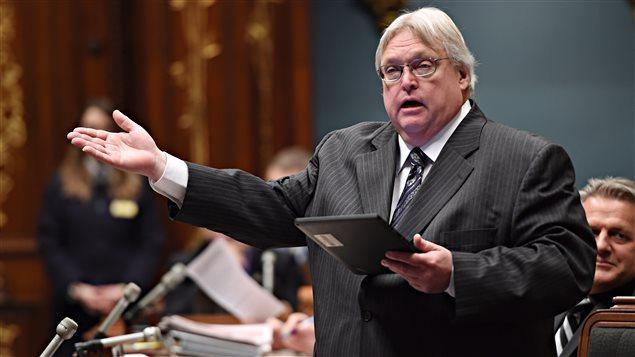 Le ministre de la Santé et des Services sociaux du Québec, Gaétan Barrette