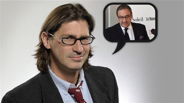Jean-René Dufort veut devenir patron des journaux à la place de Martin Cauchon.