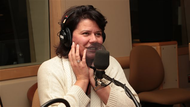 La comédienne et animatrice Marina Orsini