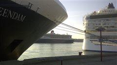 Le Port de Québec veut moderniser ses installations et construire un nouveau terminal pour accueillir plus de croisiéristes