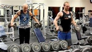 Kevin Marcoux et Roch Labelle, sont arrivés au gym vers 3h30 du matin.
