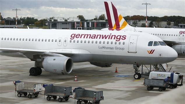 Des appareils de la Germanwings du groupe Lufthansa