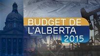 Budget de l'Alberta 2015: un déficit de 5 milliards $, malgré de nouvelles taxes