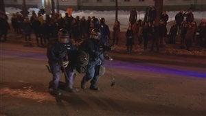 274 manifestants ont été arrêtés mardi soir.