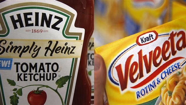 Les compagnies Kraft Foods et H.J. Heinz ont annoncé aujourd'hui leur fusion.