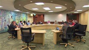 La Commission scolaire franco-manitobaine tient une réunion au bureau divisionnaire à Lorette.