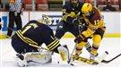La chasse aux hockeyeurs universitaires est ouverte, mais seulement du côté américain