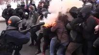 Manifestante blessée au visage : une enquête déclenchée
