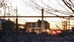 L'usine Griffin Wheel Company dans le quartier Transcona.