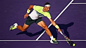 Rafael Nadal chasse les inquiétudes avec un gain de 6-4, 6-2 contre Nicolas Almagro