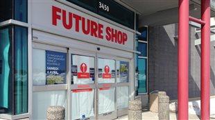Fin de l'enseigne Future Shop