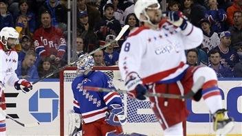 Les Capitals, sur une lancée, battent les Rangers