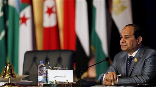 الرئيس المصري عبد الفتّاح السيسي