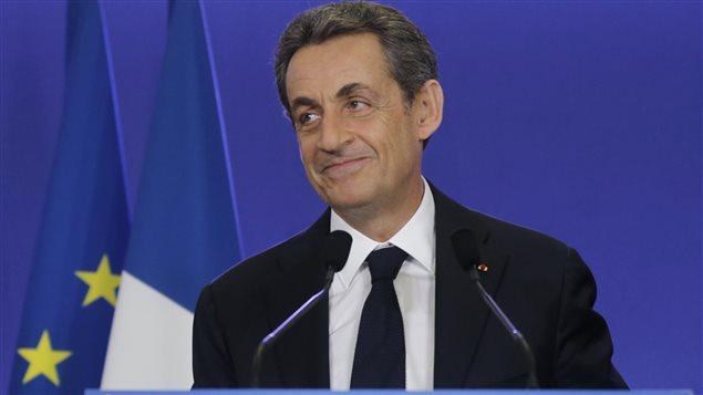 Le chef de l'UMP et ex-président de la France, Nicolas Sarkozy