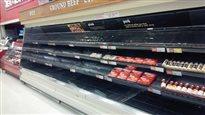 Traversiers et glace : des étagères d'épicerie vides à Terre-Neuve-et-Labrador