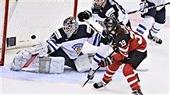 Les Canadiennes malmènent les Finlandaises à Malmö