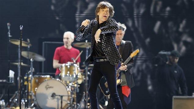 Les Rolling Stones seront à Québec le 15 juillet.