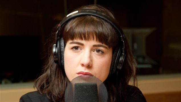 La cofondatrice de l'organisme Lande, Andréanne Maltais Tremblay