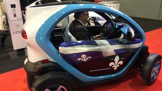 Un nouveau modèle de voiture électrique du fabricant Renault