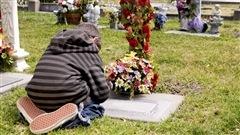 Un enfant en deuil