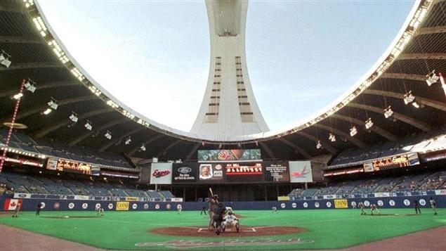 Le Stade olympique de Montréal en 1991