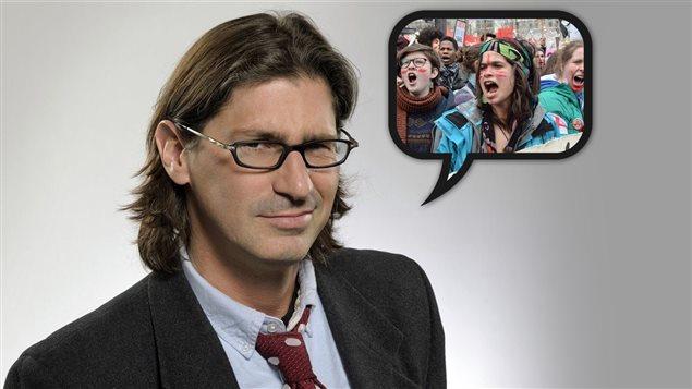 Jean-Ren� Dufort fait l'�loge des manifestations �tudiantes