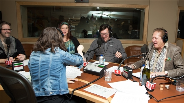 Gilles Renaud a provoqué plus qu'un fou rire en studio!