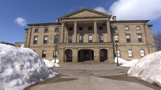 Province House, siège du parlement de l'Île-du-Prince-Édouard à Charlottetown