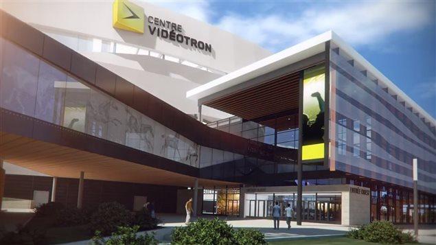 L'amphithéâtre de Québec portera le nom de Centre Vidéotron