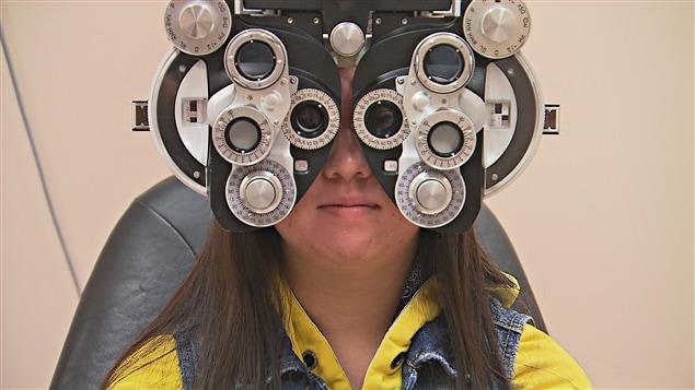 Examen chez l'optométriste