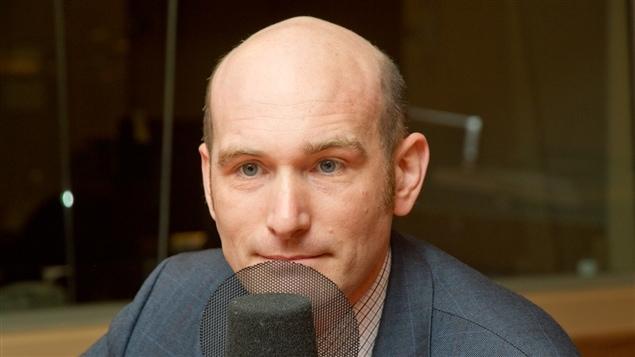 Le journaliste et auteur Nicolas Hénin