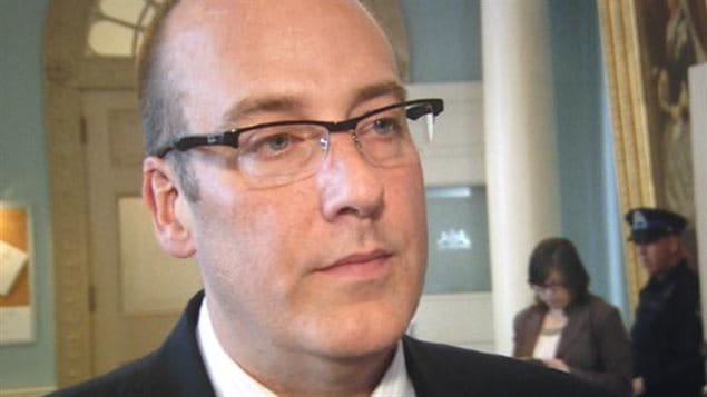 Le député progressiste conservateur Chris d'Entremont.