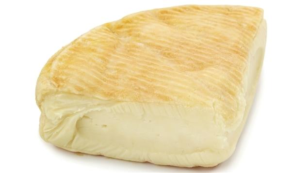 Un morceau de camembert
