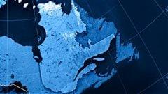 Carte du Québec