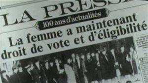 Deux centenaires se souviennent de leur premier vote