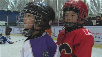 Presque autant d'amateurs de hockey en Chine qu'au Canada