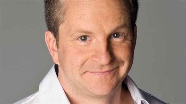André Robitaille, animateur de l'émission <em>Entrée principale</em> à ICI Radio-Canada télé