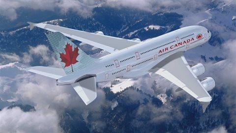Un Airbus A380 - Air Canada