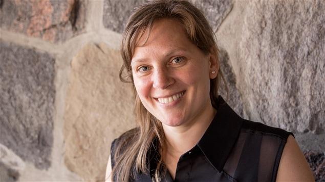L'auteure Annie-Claude Thériault