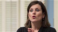 Bâtonnière suspendue: la fuite préoccupe la ministre Vallée