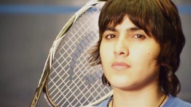 La joueuse de squash pakistanaise Maria Toorpakai