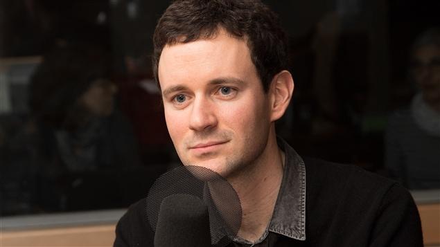 L'écrivain Alexandre Postel