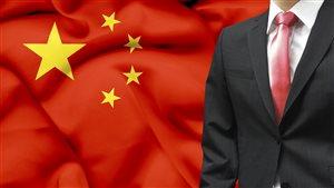 Un homme d'affaire chinois