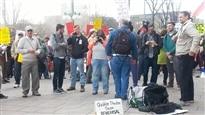 Nouvelle manifestation à Ottawa contre le projet de loi C-51