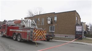 Les pompiers sont intervenus vers 9 h dans le quartier Limoilou.